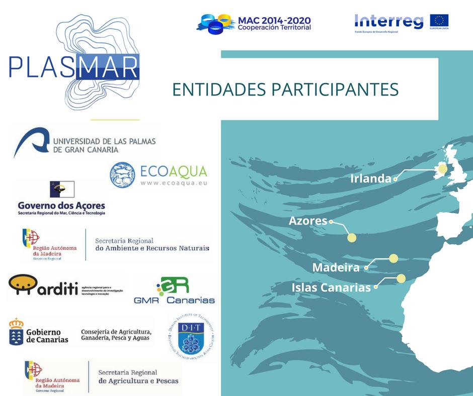 Entidades Participantes Proyecto PLASMAR