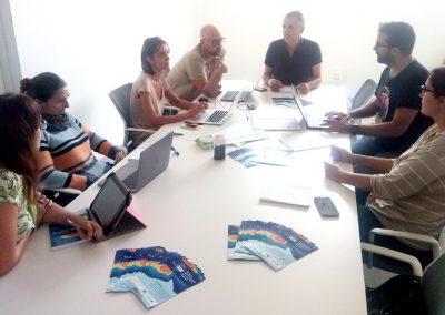 Reunión de Seguimiento mensual Proyecto Plasmar Octubre