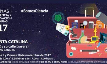 EL PROYECTO PLASMAR PRESENTE EN LAS SEMANAS DE LA CIENCIA Museo ELDER. Gran Canaria. 8-10/11/2017