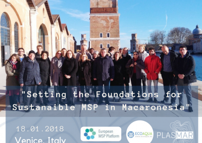 SETTING THE FOUNDATIONS FOR SUSTAINABLE MARITIME SPATIAL PLANNING IN MACARONESIA