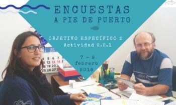 COMIENZO DE LAS ENCUESTAS A PIE DE PUERTO EL HIERRO. 7-9.02.2018