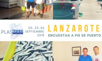 ENCUESTAS AL SECTOR PESQUERO ARTESANAL LANZAROTE. LA GRACIOSA. 20-25-26.09.2018