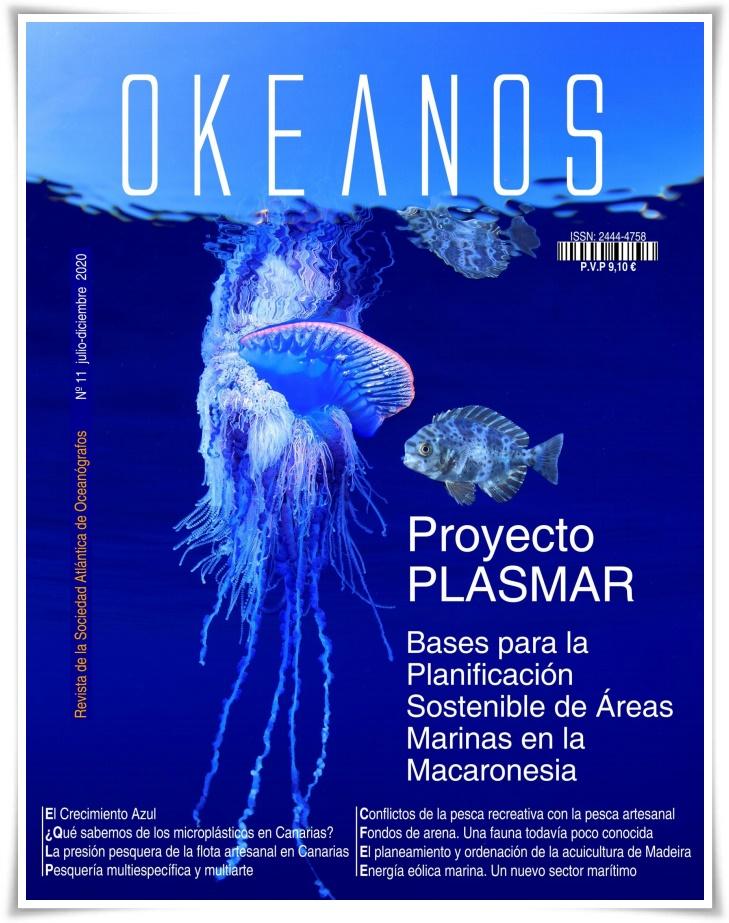 Revista OKEANOS proyecto PLASMAR